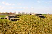 Ww1 Foxhole Trench Of Death In Diksuimde Flanders Belgium
