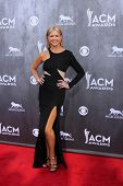 LAS VEGAS - APR 6:  Nancy O'Dell at the 2014 Academy of Country Music Awards - Arrivals at MGM Grand