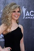 LAS VEGAS - APR 6:  Natalie Stoval at the 2014 Academy of Country Music Awards - Arrivals at MGM Gra