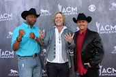 LAS VEGAS - APR 6:  Cowboy Troy, Big & Rich at the 2014 Academy of Country Music Awards - Arrivals a