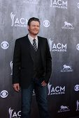 LAS VEGAS - APR 6:  Blake Sheldon at the 2014 Academy of Country Music Awards - Arrivals at MGM Grand Garden Arena on April 6, 2014 in Las Vegas, NV