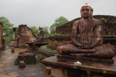 Seated Buddhas Of Polonnaruwa