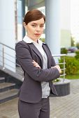 Businesswoman. Simple Portrait.