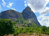 The Fantastic Nature Of Mozambique. Mountains. Africa, Mozambique.
