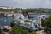Military Ship, Sevastopol, Crimea