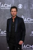 LAS VEGAS - APR 6:  Chuck Wicks at the 2014 Academy of Country Music Awards - Arrivals at MGM Grand