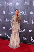 LAS VEGAS - APR 6:  Danielle Bradbury at the 2014 Academy of Country Music Awards - Arrivals at MGM