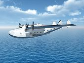 Flying Boat Airliner