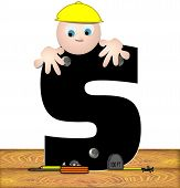 Alphabet Construction Worker S
