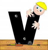Alphabet Construction Worker V