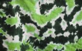 Tie-die Green Fabric