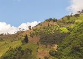 stock photo of andes  - Andes hills - JPG