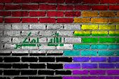 Dark Brick Wall - Lgbt Rights - Iraq