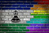 Dark Brick Wall - Lgbt Rights - Lesotho