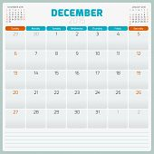 foto of tuesday  - Calendar planner 2015 template week starts sunday - JPG