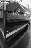 Black Yacht Bow poster