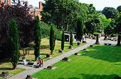 Roman Gardens, Chester.