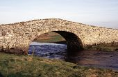 Old Stone Bridge In Aberffraw