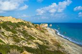foto of saracen  - The coast of Paphos with the Aphrodite - JPG