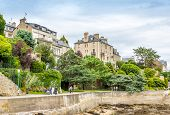 In The Streets Of Dinard.