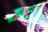 Plastic Foil In Polarized Light