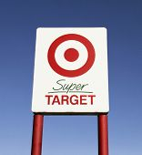 Super Target Road Sign