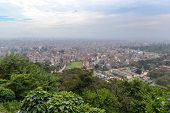 View Of Kathmandu City From Swayambhunath Temple