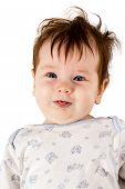 Little Kid Shows Tongue
