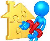 Golden Home Puzzle Percentage Problem