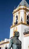 Hercules statue in Ronda