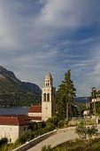 Church And Monastery Sveti Nikola In Korcula, Croatia