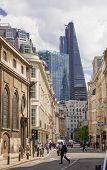 LONDON, UK - JUNE 30, 2014: Guildhall Yard buildings, originated 1440