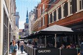 Kingly st. London, cafes and public house