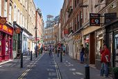Covent Garden market, one of the main tourist attractions in London, kno