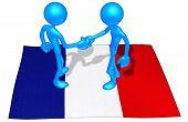 Flag Handshake