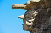 The Witch Rock Formation In Valle De La Luna, Argentina