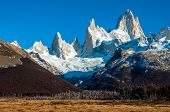 Landscapes Of South Argentina, In The Fitz Roy Trail