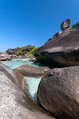 Turquoise Water, Boulders