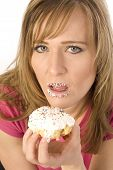 Woman Caught With Pastry