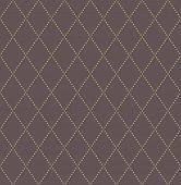 Geometric Golden Modern  Seamless Pattern