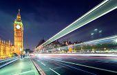 stock photo of westminster bridge  - Big Ben from Westminster Bridge - JPG