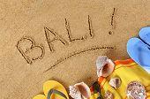 Bali Beach Background