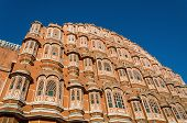Palace Of The Winds In Jaipur, Rajasthan, India