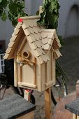 Bird wooden house