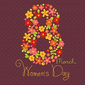 ������, ������: Card Womens Day on March 8