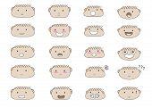 Cute Boy Faces Emoji