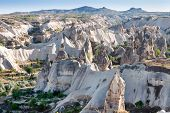 foto of goreme  - View of the small town Goreme in Cappadocia - JPG