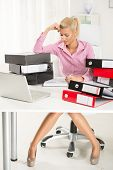 Hardworking Businesswoman