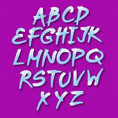 Rounded Abstract Colored Design Font