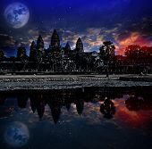 Angkor wat sunrise Siem reapCambodia was inscribed on the UNESCO World Heritage List in 1992. Elemen